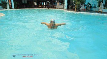 Hình ảnh lớp học bơi nâng cao 2