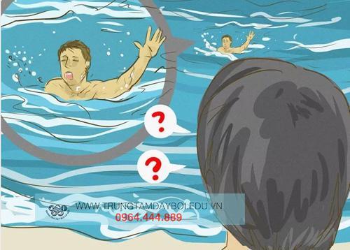 Cách cứu người bị đuối nước khi ở dưới nước