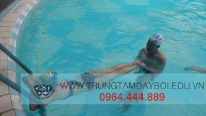 Kỹ thuật chân trong Bơi Ếch
