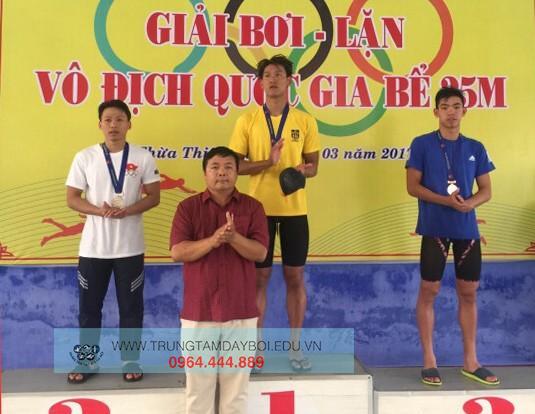 Giải Bơi Lặn vô địch Quốc gia bể 25m năm 2017