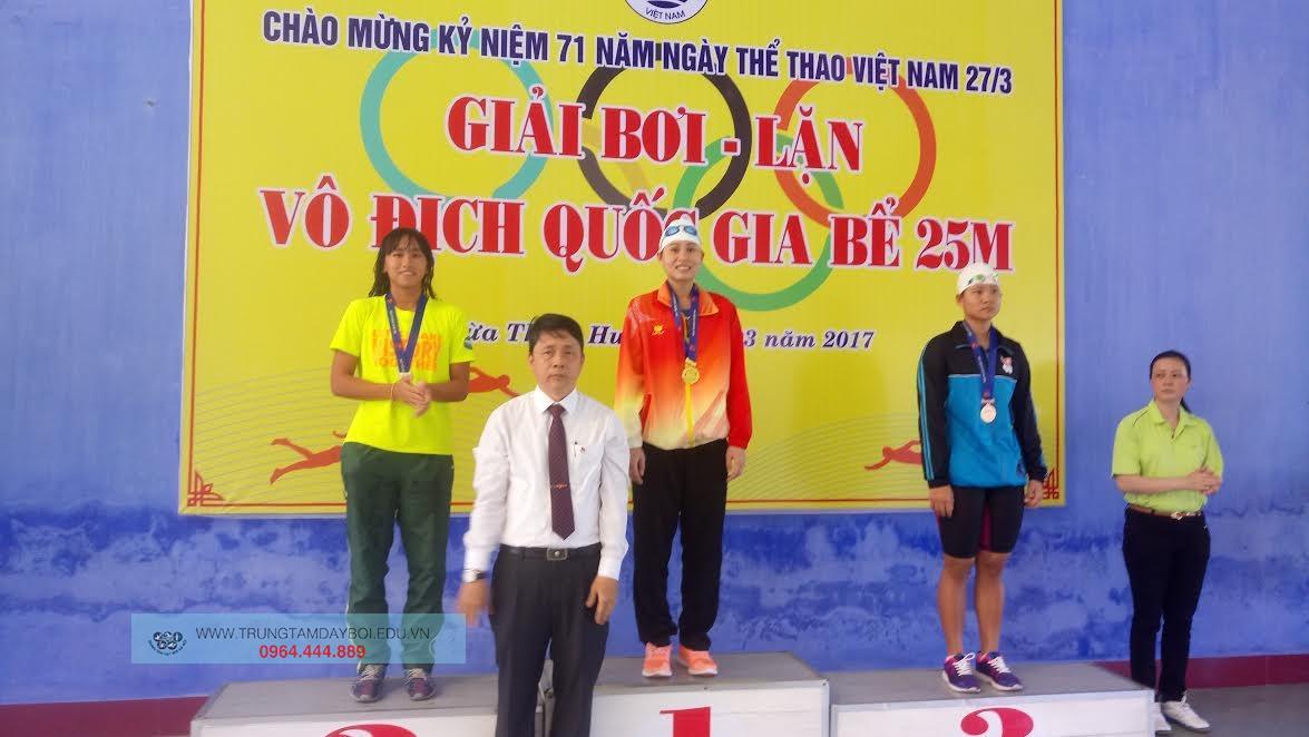 Giải Bơi Lặn vô địch Quốc gia bể 25m năm 2017  Giải Bơi Lặn vô địch Quốc gia bể 25m năm 2017