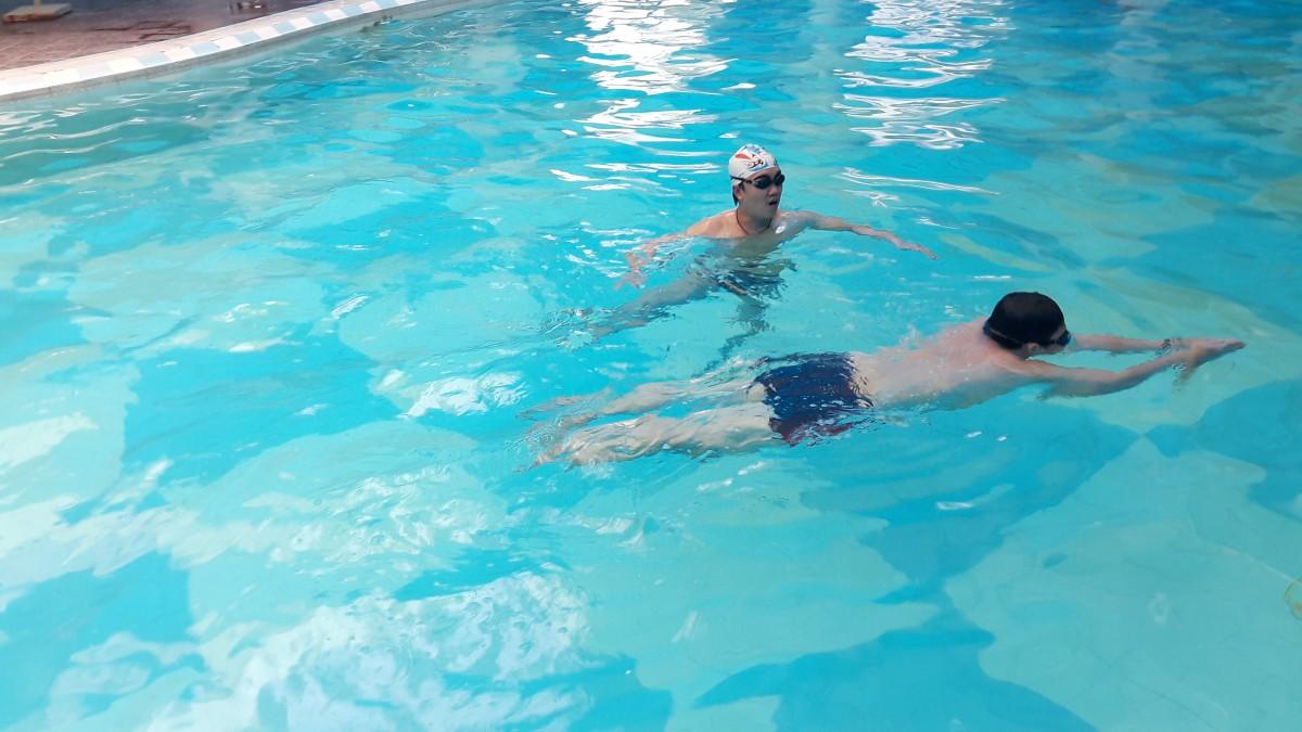 """""""Sợ nước"""": Lời khuyên để học bơi hiệu quả  """"Sợ nước"""": Lời khuyên để học bơi hiệu quả  """"Sợ nước"""": Lời khuyên để học bơi hiệu quả"""